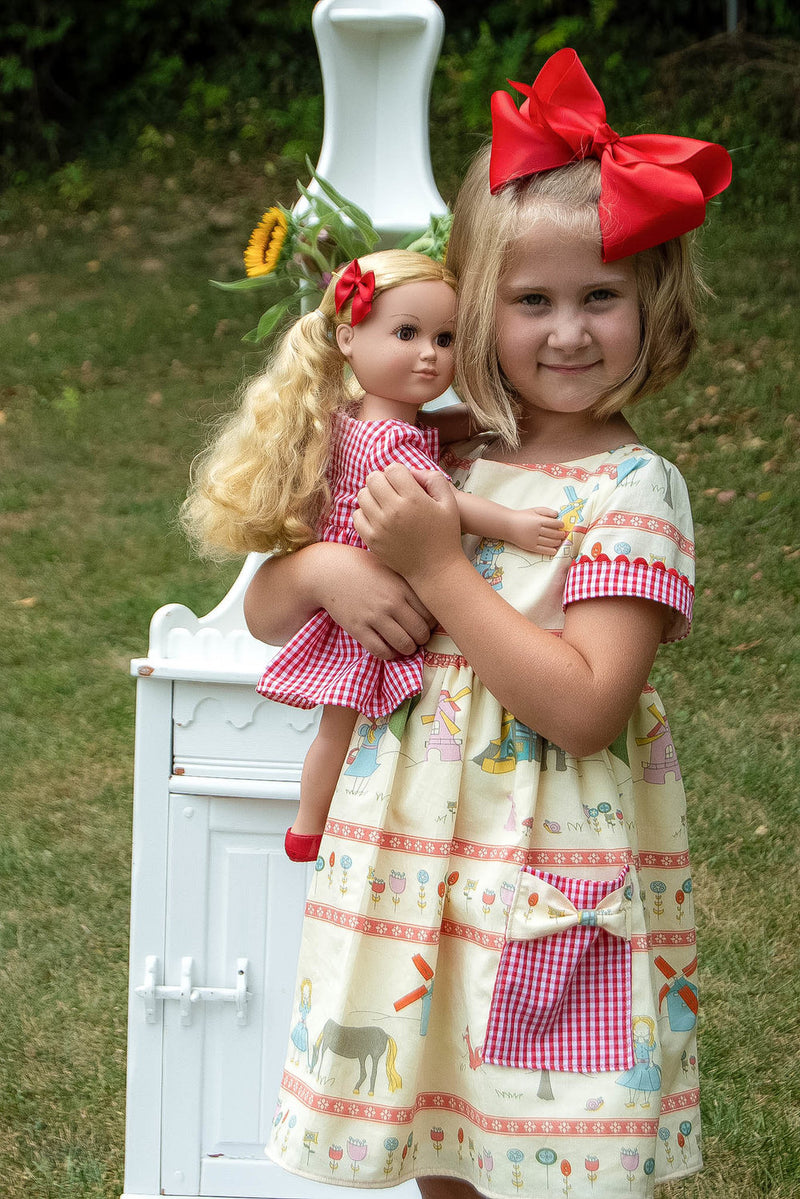 Melbourne Girl and Doll 2 Pattern Bundle