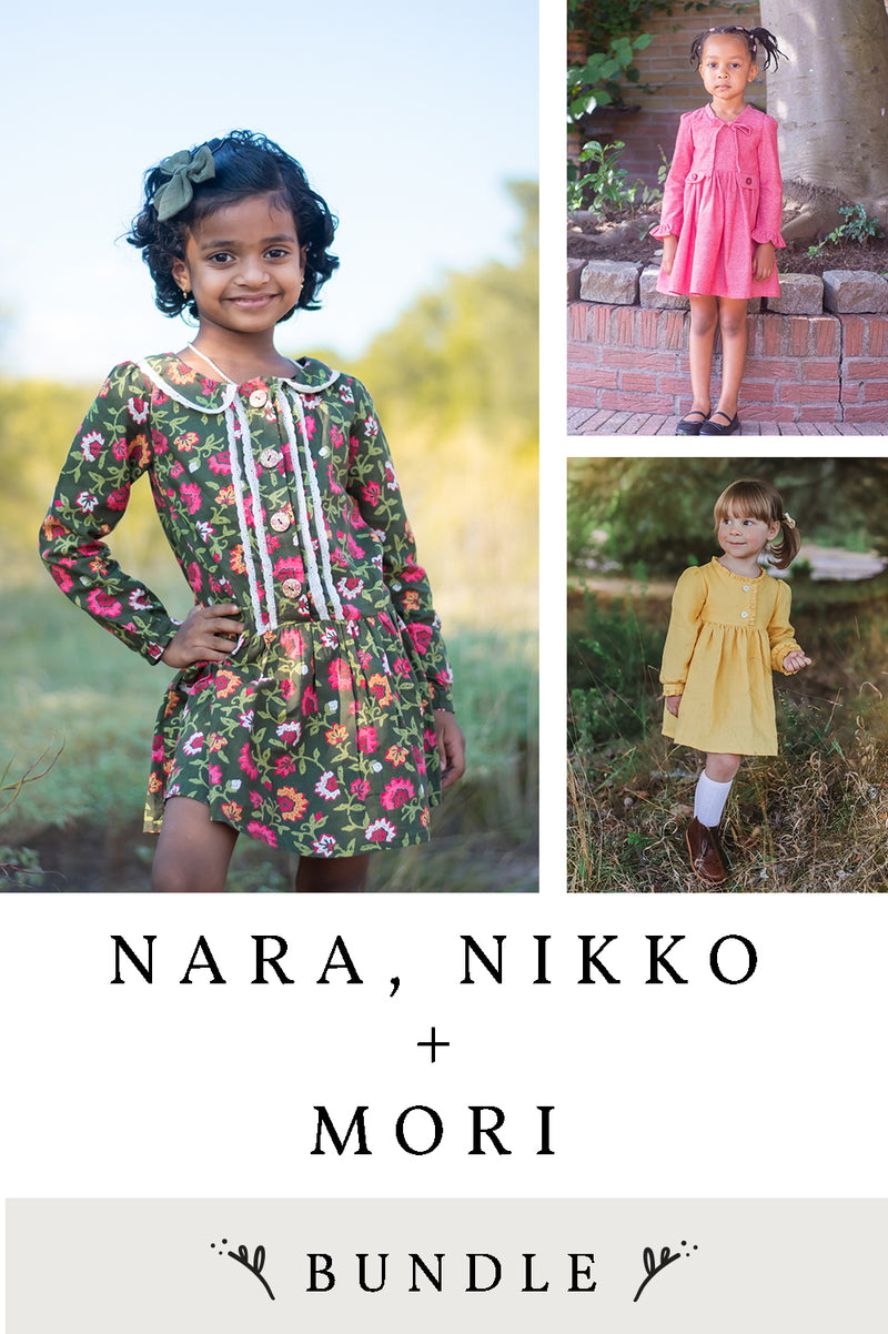 Nara, Nikko and Mori 3 Pattern Bundle