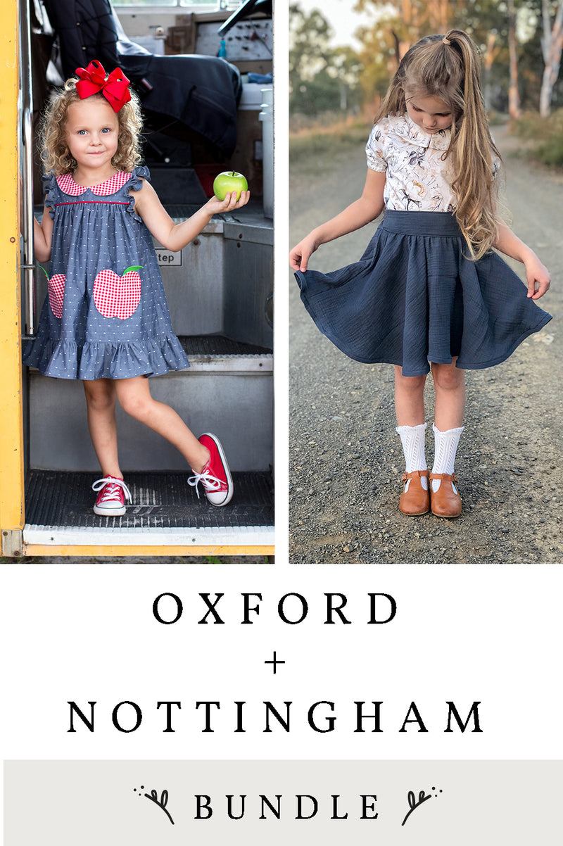Nottingham and Oxford 2 Pattern Bundle