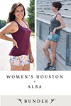 Women's Houston and Alba 2 Pattern Bundle