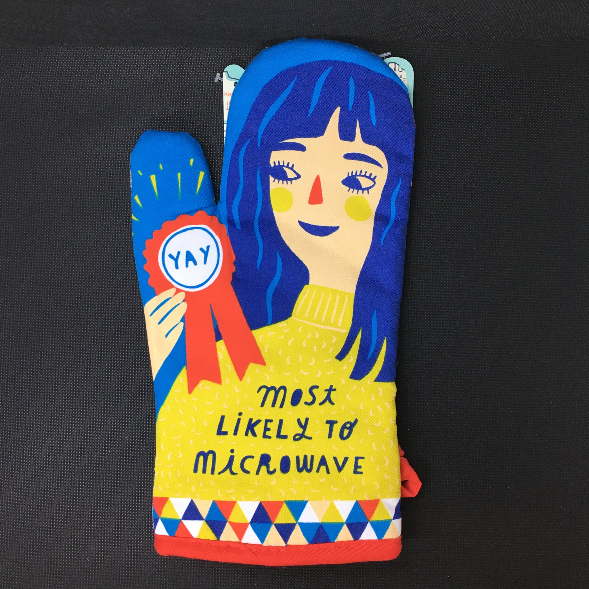 Most Likely To Microwave Oven Mitt - Lyla's: Clothing, Decor & More - Plano Boutique