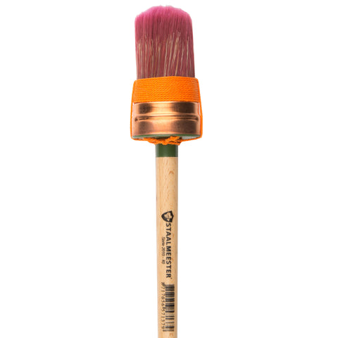 Fusion Mineral Paint Staalmester Oval Brush #40 - Lyla's: Clothing, Decor & More