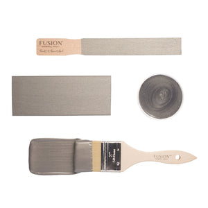 Fusion Mineral Paint Metallic: Brushed Steel - Lyla's: Clothing, Decor & More
