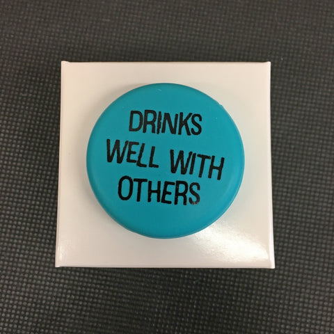 Drinks Well With Others Wine Cap - Lyla's: Clothing, Decor & More - Plano Boutique