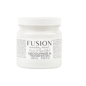 Fusion Mineral Paint Decoupage & Transfer Gel - Lyla's: Clothing, Decor & More - Plano Boutique