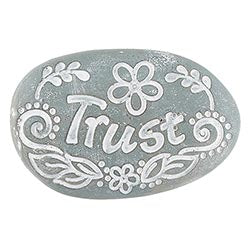 Trust Pocket Stone - Lyla's: Clothing, Decor & More - Plano Boutique