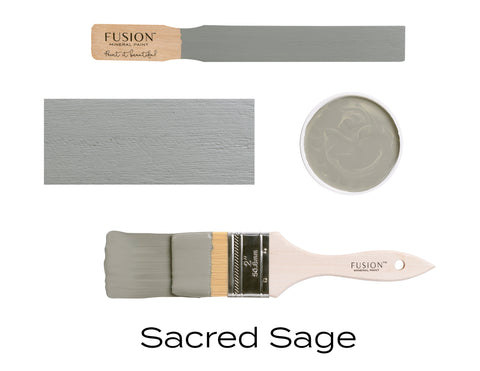 Fusion Mineral Paint Sacred Sage - Lyla's: Clothing, Decor & More
