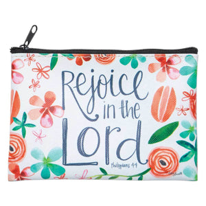Rejoice in the Lord Coin Purse - Lyla's: Clothing, Decor & More