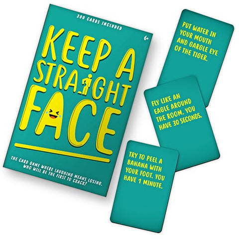 Keep A Straight Face Game - Lyla's: Clothing, Decor & More - Plano Boutique