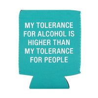 Tolerance For People Koozie - Lyla's: Clothing, Decor & More - Plano Boutique