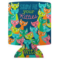 Show Me Your Kitties Koozie - Lyla's: Clothing, Decor & More - Plano Boutique