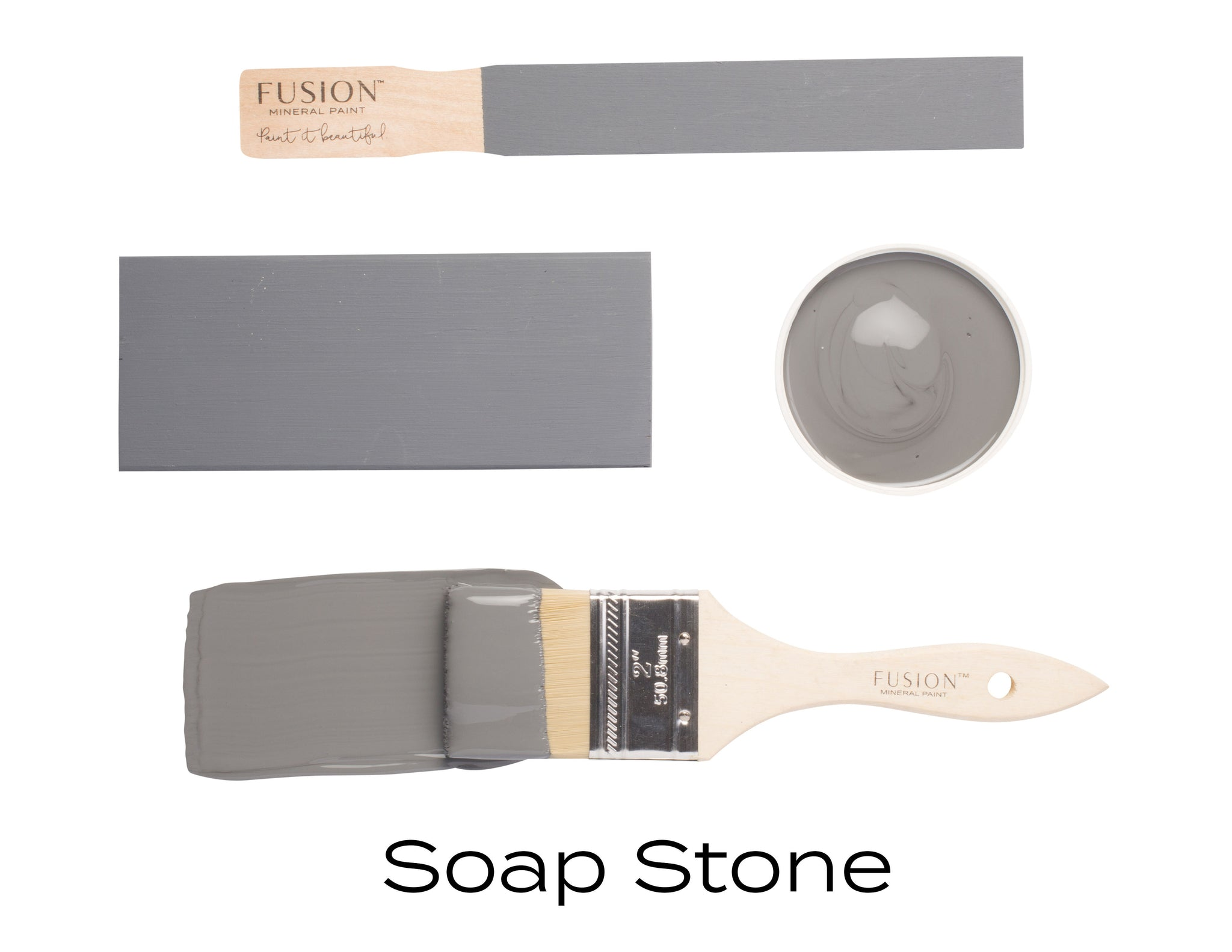 Fusion Mineral Paint: Soap Stone - Lyla's: Clothing, Decor & More - Plano Boutique
