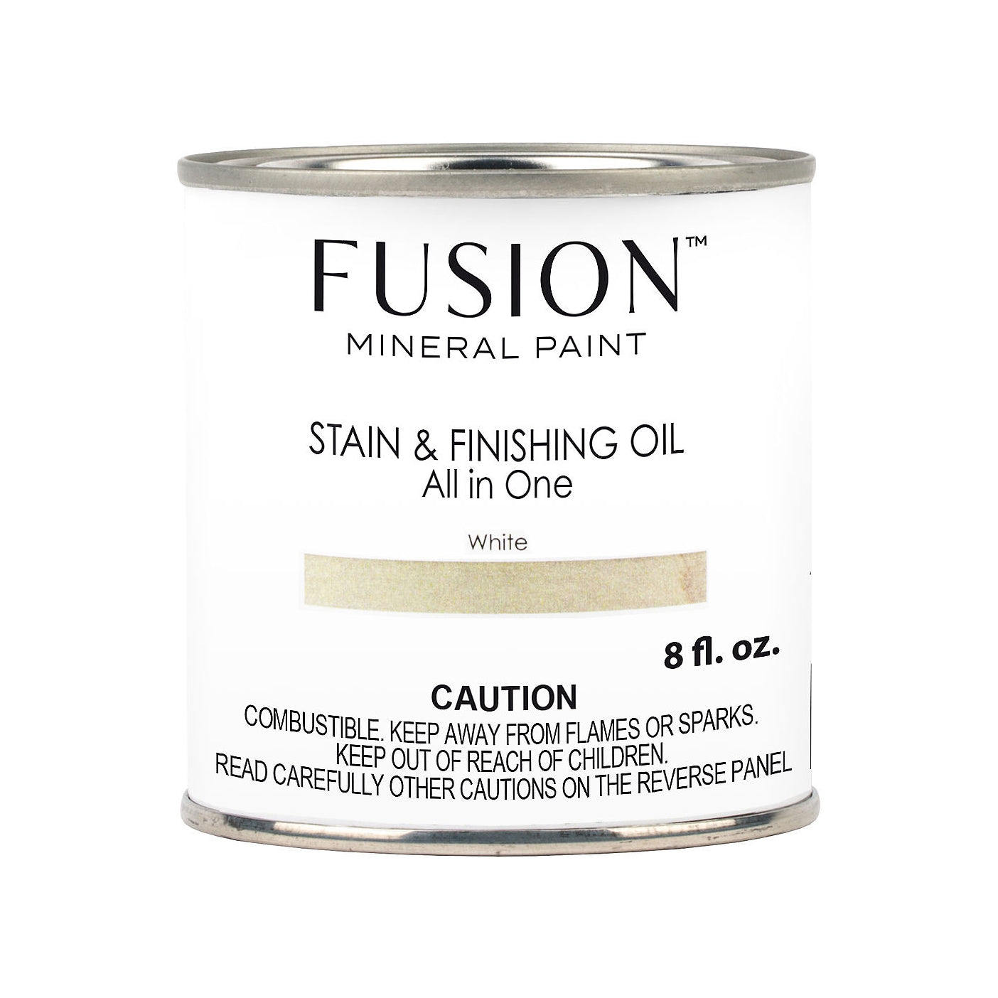 Fusion Mineral Paint Stain and Finishing Oil: White - Lyla's: Clothing, Decor & MOre