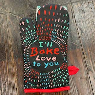 I'll Bake Love to You Oven Mitt - Lyla's: Clothing, Decor & More - Plano Boutique