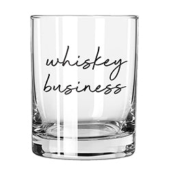 Whiskey Business Rocks Glass - Lyla's: Clothing, Decor & More - Plano Boutique