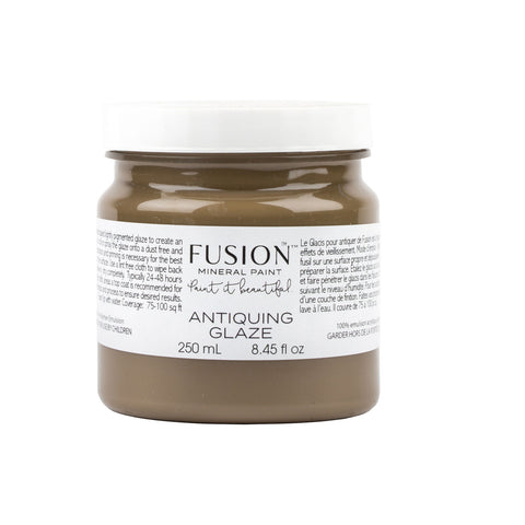 Fusion Mineral Paint: Glaze Antiquing - Lyla's: Clothing, Decor & More
