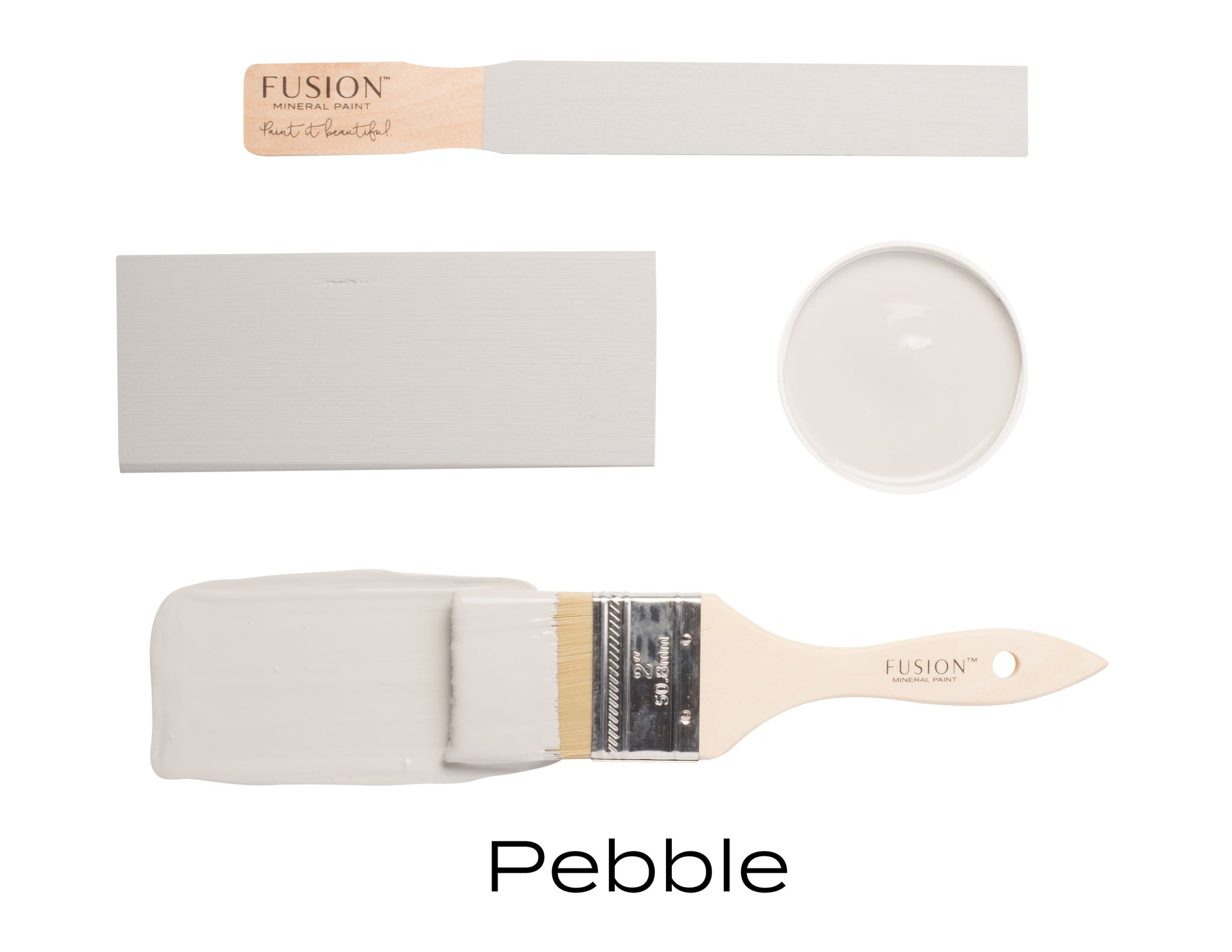 Fusion Mineral Paint: Pebble - Lyla's: Clothing, Decor & More - Plano Boutique