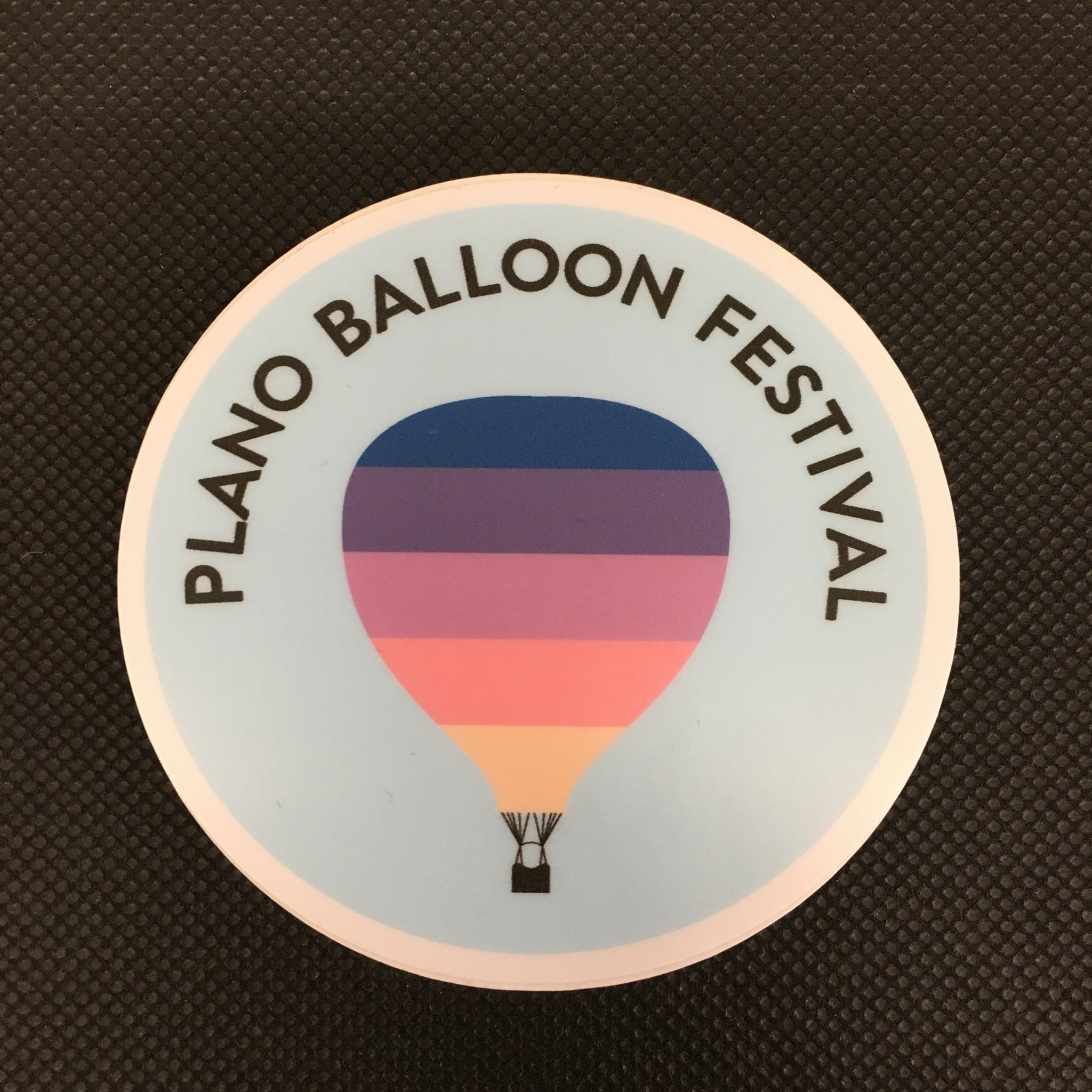 Plano Balloon Festival Sticker - Lyla's: Clothing, Decor & More - Plano Boutique