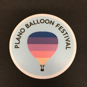 Plano Balloon Festival Sticker