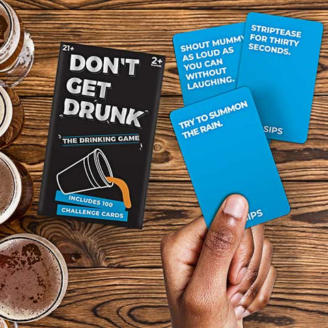 Don't Get Drunk Game