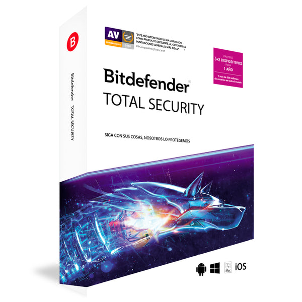 Bitdefender 2020 Total Security 5 DEV - 1 Year  - Product key