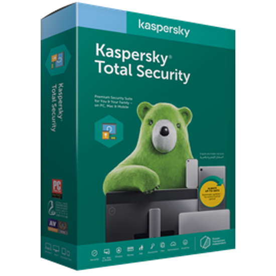 Kaspersky Total Security 2021 2 Year 1 Dev Official website CD Key  - Product key