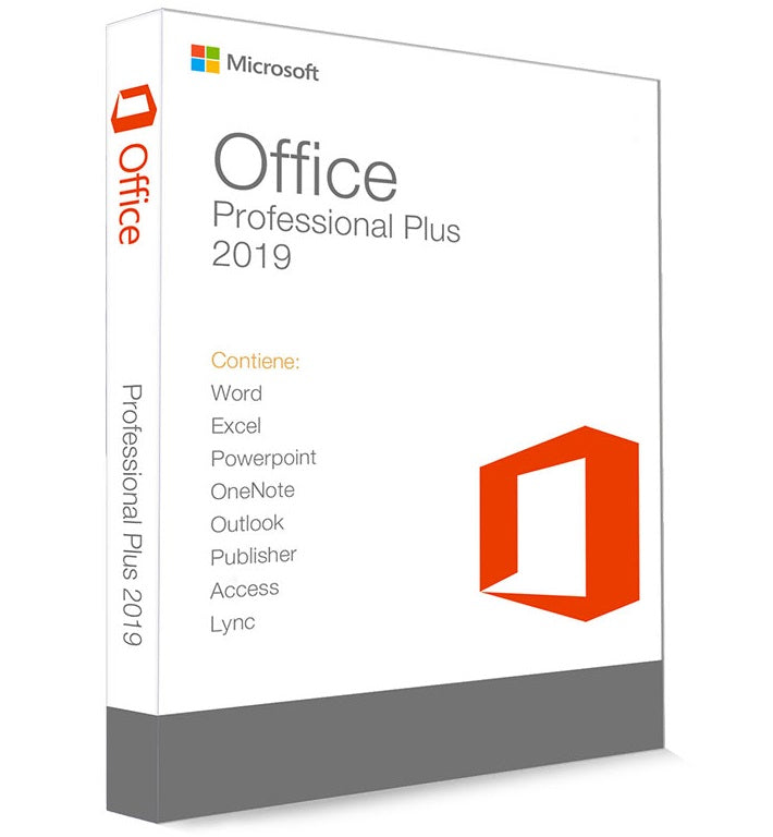 Microsoft Office Pro Plus 2019 Retail  - Product key