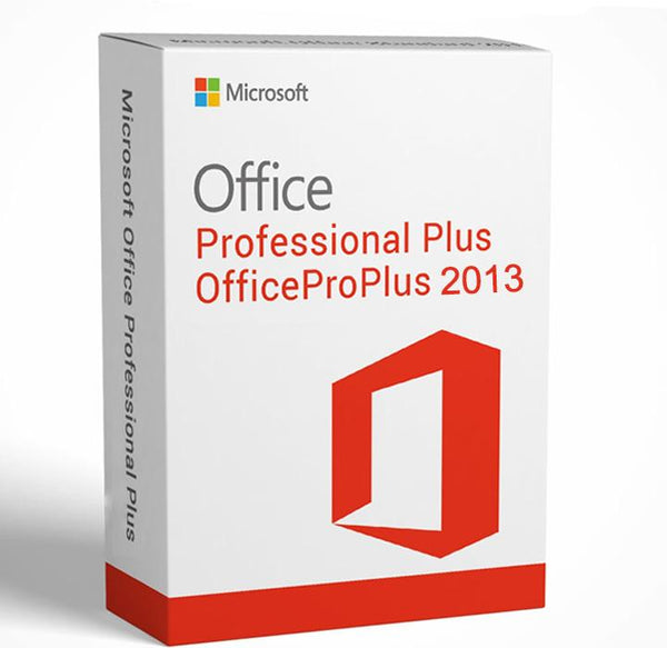 Microsoft Office Pro plus 2013  - Product key