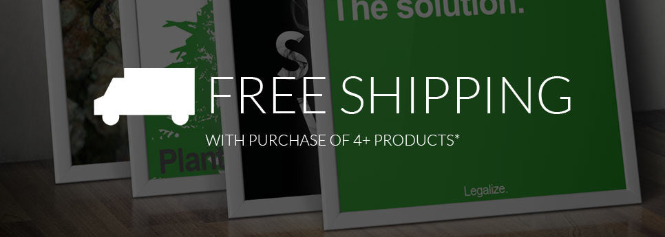 Free Shipping With Purchase of 4 or more products