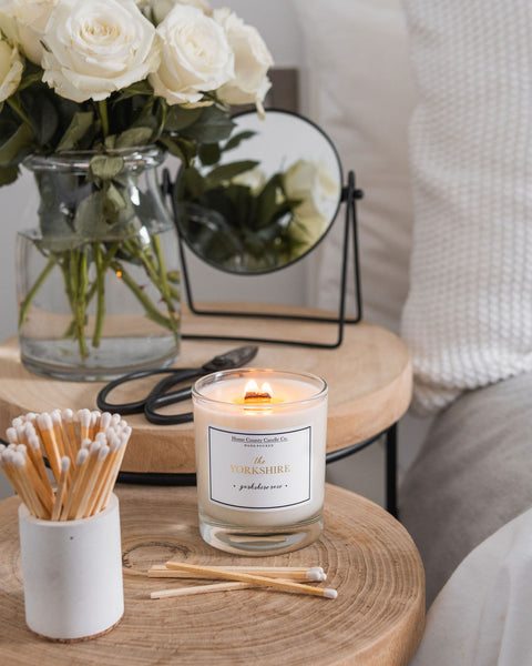 The Yorkshire - Yorkshire Rose Soy Candle
