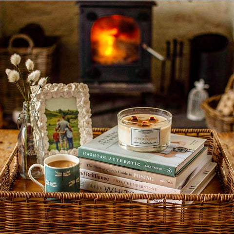 Hertfordshire Bluebell 3 Wick Candle