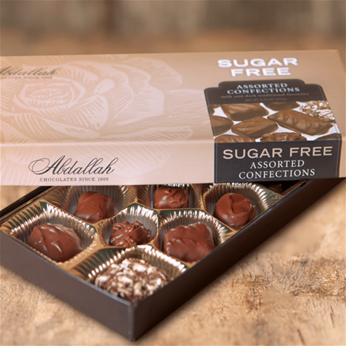 Abdallah Sugar Free Chocolates 6.75 oz