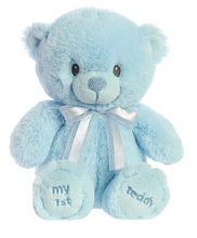Load image into Gallery viewer, First Teddy - Pink and Blue
