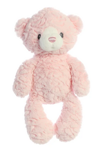 "Huggy Bear - 13"" in Blue and Pink"
