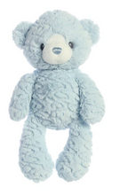 "Load image into Gallery viewer, Huggy Bear - 13"" in Blue and Pink"