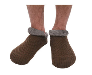 Snoozies Men's Sherpa Lined Sock