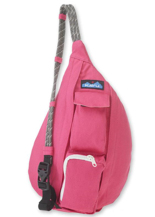Mini Rope Bag - Magenta