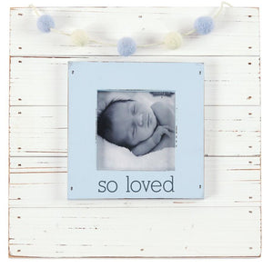 So Loved Frame Blue