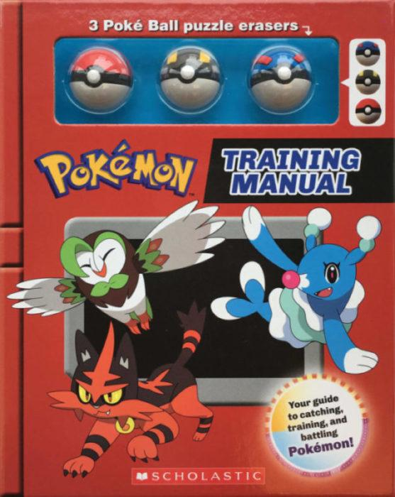 Pokémon Training Manual : Training Box With Poké Ball Erasers