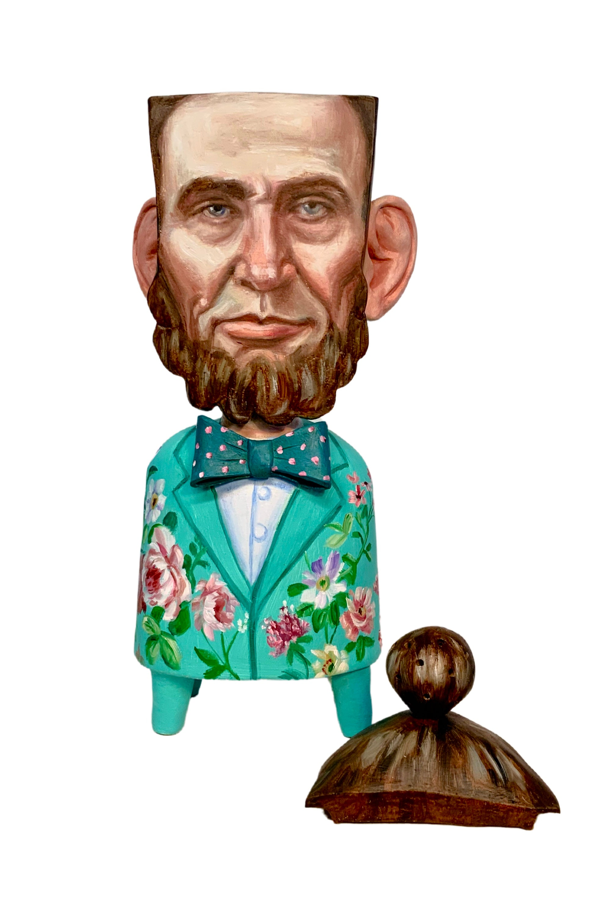 Honest Abe With A Man-Bun