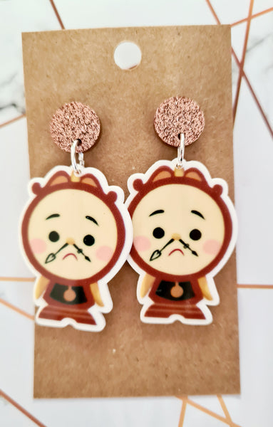 Cogsworth Earrings