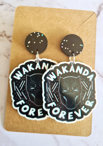 Wakanda Forever Black Panther 100% of proceeds donated to Cancer Council
