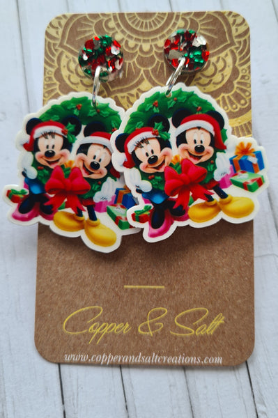 Minnie and Mickey Christmas