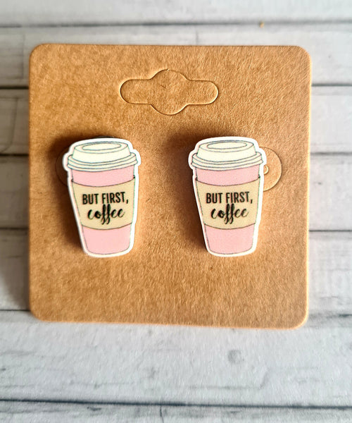 But First, Coffee Studs