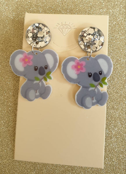 Aussie Koala Earrings