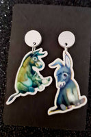 Wonkey Donkey & Dinky Donkey Earrings