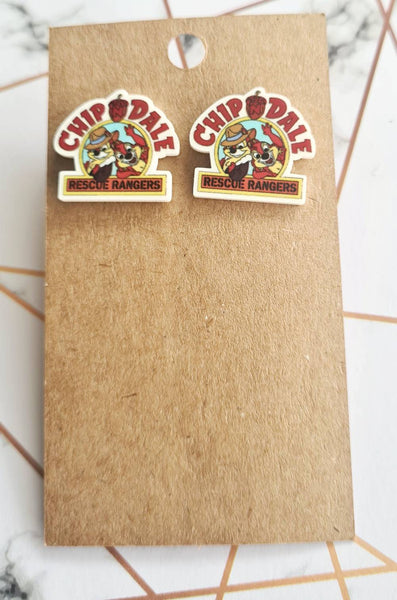 Chip & Dale Statement Studs
