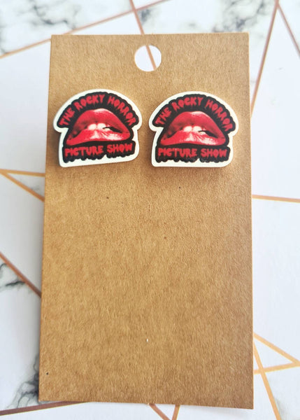 Rocky Horror Picture Show Statement Studs