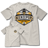 """LB BEEKEEPERS"" MENS TEE (NATURAL)"