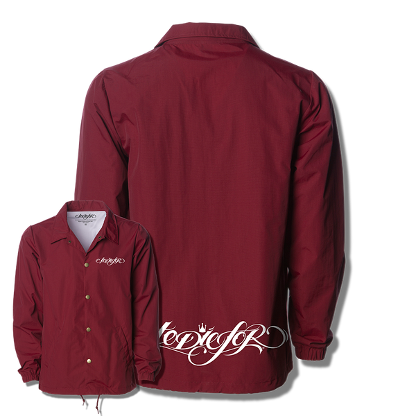 """TANGLED"" COACHES JACKET (CARDINAL)"